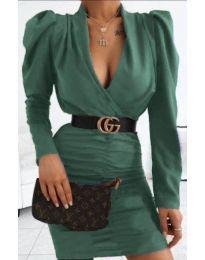 Фустан - код 953 - темно зелена