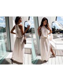 Фустан - код 708 - бело