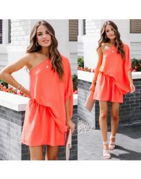 Фустан - код 9933 - портокалова
