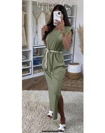 Фустан - код 7049 - путер зелена