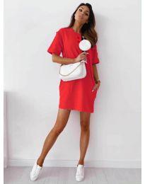Фустан - код 7236 - црвена