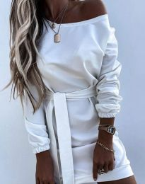 Фустан - код 2409 - бело