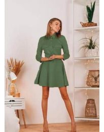 Фустан - код 6619 - путер зелена