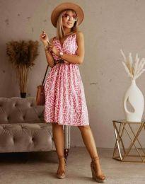 Фустан - код 5488 - 6 - шарена