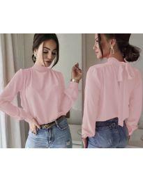 Блуза - код 833 - розова