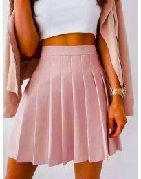 Сукња - код 8116 - розова