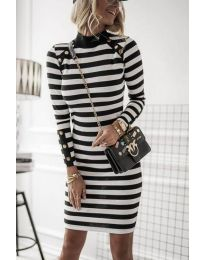 Фустан - код 1573 - 1 - црна