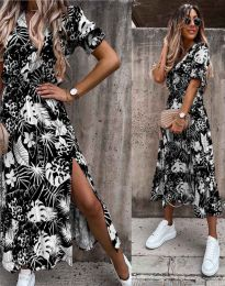 Фустан - код 6212 - црна