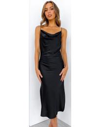 Фустан - код 7161 - црна