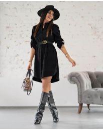 Фустан - код 9601 - црна
