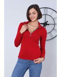 Блуза - код 2059 - 1 - црвена