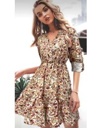 Фустан - код 979 - 2 - шарено