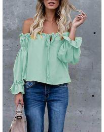 Блуза - код 5574 - ментол