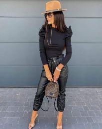 Блуза - код 2838 - 2 - црна