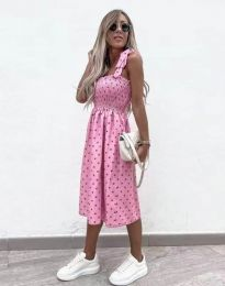 Фустан - код 4535 - розова