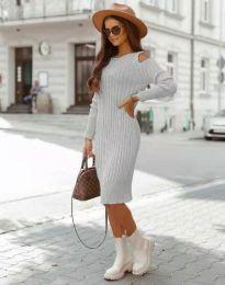 Фустан - код 8203 - сиво