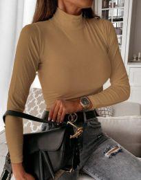 Блуза - код 6087 - капучино