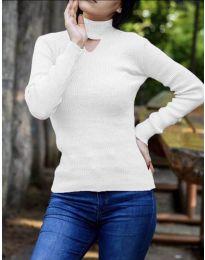 Блуза - код 5191 - бело
