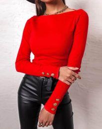 Блуза - код 11565 - црвена
