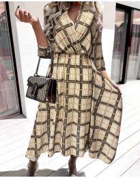 Фустан - код 8404 - шарена