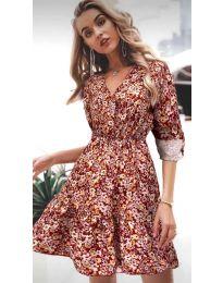Фустан - код 979 - 5 - шарено