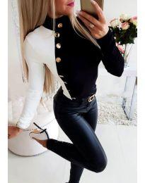 Блуза - код 3496 - 1 - црна