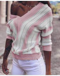 Блуза - код 786 - розова