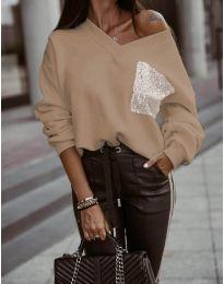 Блуза - код 904 - капучино