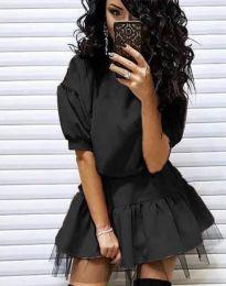 Фустан - код 2856 - црна