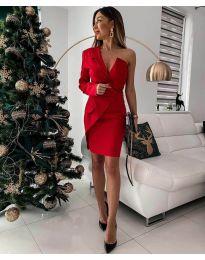 Фустан - код 15944 - 3 - црвена