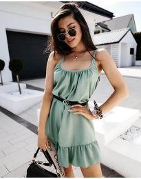 Фустан - код 7768 - светло зелено