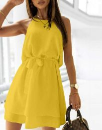 Фустан - код 9968 - жолта
