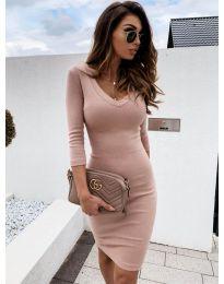 Фустан - код 4040 - пудра