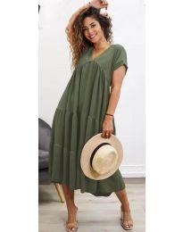 Фустан - код 4475 - путер зелена