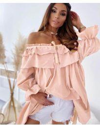 Фустан - код 9865 - розова