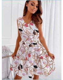 Фустан - код 325 - бело