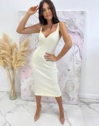 Фустан - код 10033 - бела