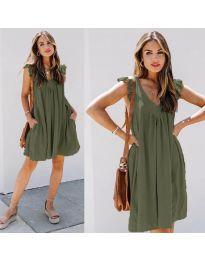 Фустан - код 5090 - путер зелена