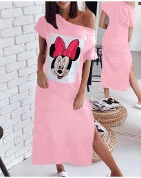 Фустан - код 6656 - розова