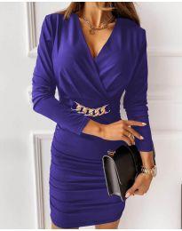 Фустан - код 8999 - виолетова