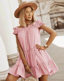 Фустан - код 6969 - розова