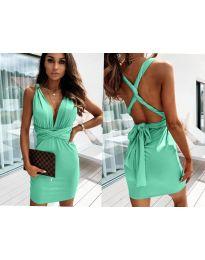 Фустан - код 4017 - зелена