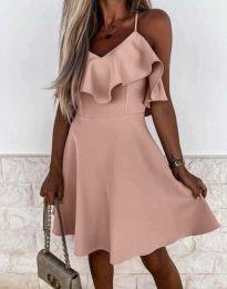 Фустан - код 2739 - розова