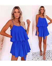 Свободна рокля в синьо - код 721