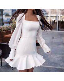 Фустан - код 3605 - бело