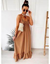 Фустан - код 2218 - кафеава