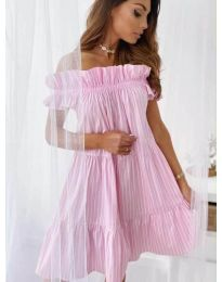 Фустан - код 0299 - розова