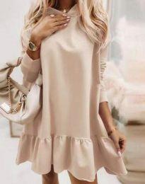 Фустан - код 9376 - кремова