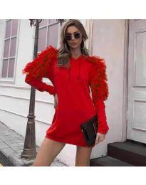 Фустан - код 6383 - црвена