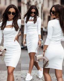 Фустан - код 7376 - 1 - бела